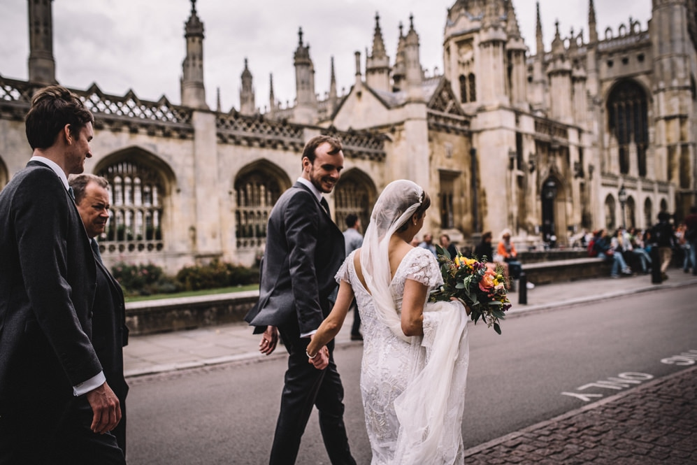 kings college wedding photography cambridge