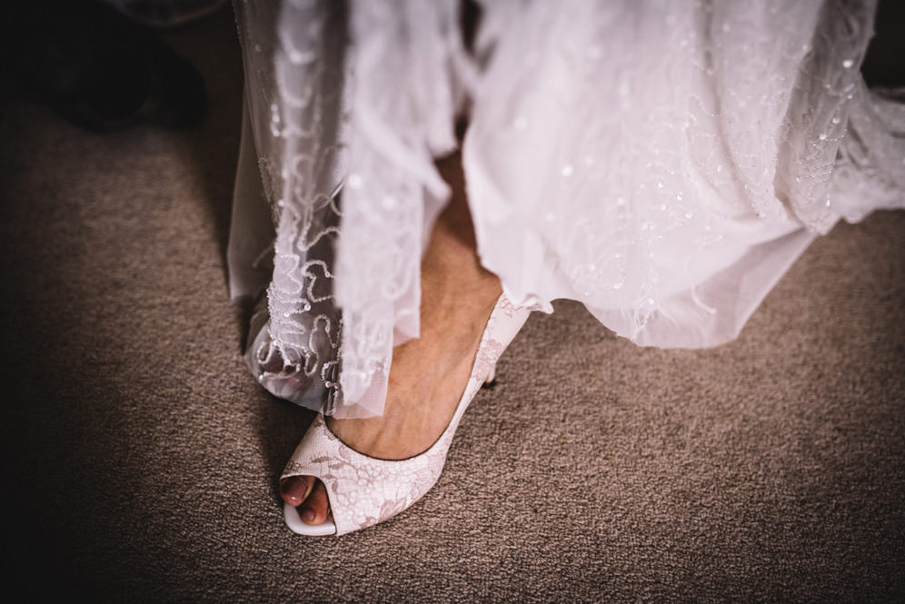 Eliza Jane Howell wedding dress detail