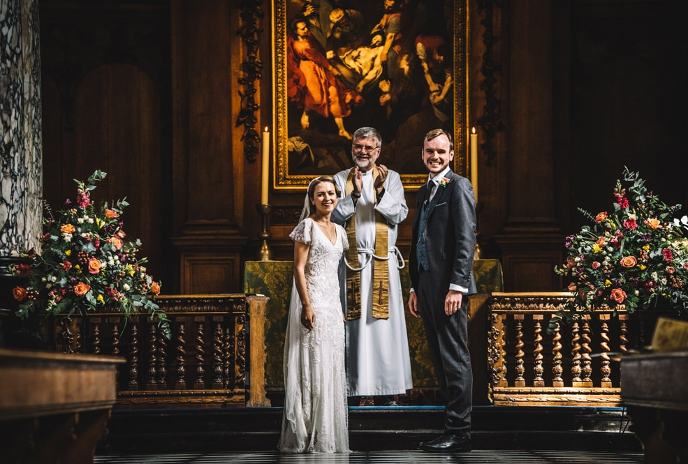 pembroke college chapel wedding photography cambridge