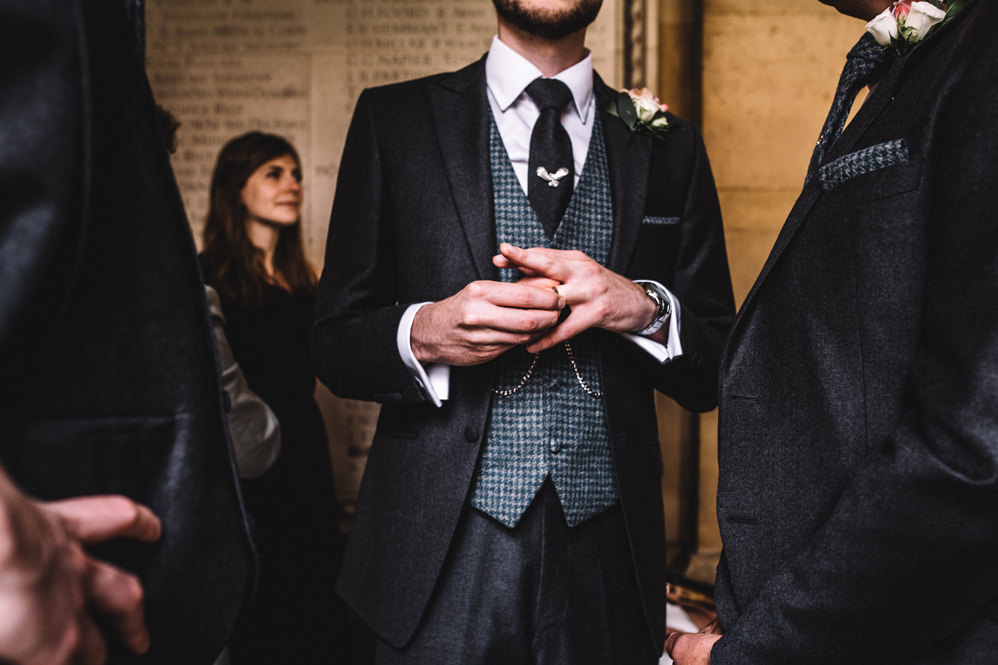 vintage groom's attire
